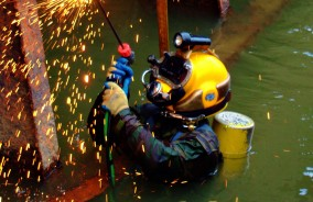 Certified Underwater Welding and Burning