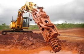 Excavator Mounted Dredging Services